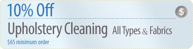 Cleaning Coupons | 10% off upholstery cleaning | Brooklyn Rug Cleaners